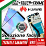 DISPLAY LCD+TOUCH SCREEN+FRAME ORIGINALE PER HUAWEI HONOR 7A 7 A VETRO SCHERMO!!