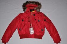 AUTHENTIC PARAJUMPERS GOBI ECO BOYS HOODED BOMBER RED YOUTH S SMALL BRAND NEW