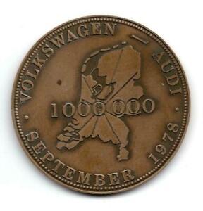 Volkswagen coin bronze medal 1978
