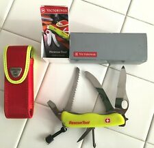 Victorinox Swiss Army Knife Rescue Tool - Yellow 53900 - new in box w/sheath