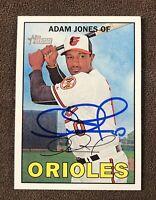 Adam Jones Signed 2016 Topps Heritage Autographed Auto Card Orioles Dbacks