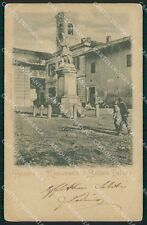 Pavia Palestro PIEGA cartolina QT0379