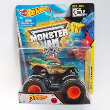 2015 Hot Wheels Dragon - Monster Jam /w Battle Slammer - NEW LOOK!