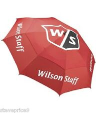 BRAND NEW WILSON GOLF 68 INCH DOUBLE CANOPY TOUR UMBRELLA