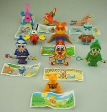 Lot of 10 Kinder Surprise 1994 Figurines All with Moving Parts Plus Papers D190
