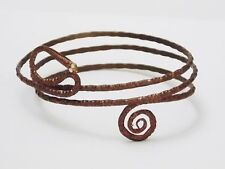 Copper Color Metal Bracelet Snake Upper Arm Tribal Ethnic Adjustable