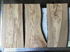 3 Olive Wood Boards Lumber  O5