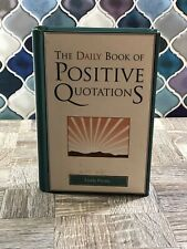 The Daily Book of Positive Quotations by Linda Picone (2007, Hardcover)