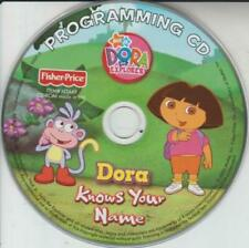 Dora Knows Your Name Programming Pc Cd personalize child's doll toy Cd-Rom songs