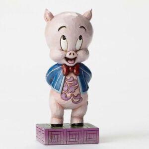 "Looney Tunes statue by ""JIM SHORE"" figurine PORKY PIG ""It's P-P-P-Porky"" figure"