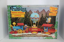 Furskins Bears Moody Hollow Express Train Set.  Never used in box.  Vintage 1986