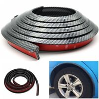 Carbon Fiber Car Fender Flare Wheel Eyebrow Protector Arch Trim Strip 1.5m