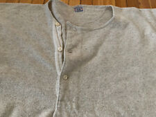 New listing Rare Vintage 20s 30s Nekconit Winsted Wool Long Farming Mining Sweater Henley