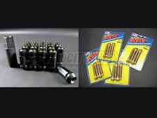 Muteki SR48 Lug Nuts Black ARP Wheel Studs 16 pcs Civic EG EK Integra DC2