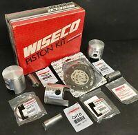 Wiseco WK1241 80.00 mm 2-Stroke Watercraft Piston Kit with Top-End Gasket Kit