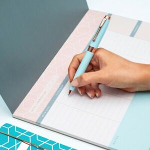 Matilda Myres A4 Desk Pad - Weekly To-Do Pad - Rose Gold - 3 Different Colours