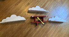Airplane and Cloud bookshelves