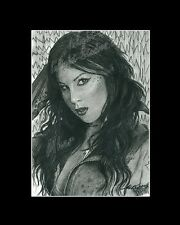 Kat Von D tattoo artist LA Ink drawing from artist art image picture poster