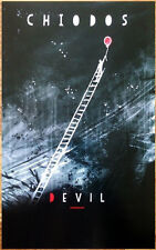 CHIODOS Devil Ltd Ed Discontinued RARE Poster +FREE Metal Rock Hardcore Poster!