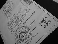 I Dream of Jeannie Bottle Blueprint -Specialty  Jim Beam Decanter Design  - 1964