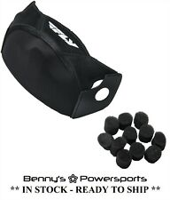 Fly Racing Kinetic Elite Helmet Cold Weather Kit Breath Box Guard Shield Plugs