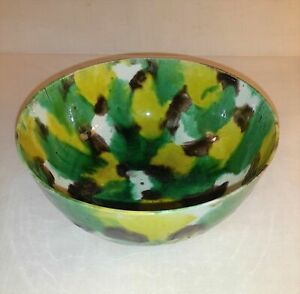 Antique Chinese Egg and Spinach Porcelain Bowl Circa 1700