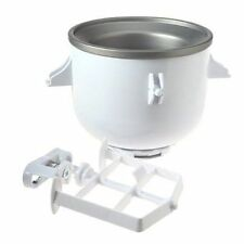 NEW KitchenAid KICA0WH Ice Cream Maker Bowl Attachment for use with Stand Mixer