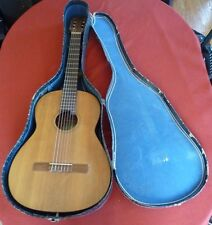 Vintage 1960 Vincente Tatay Acoustic Spanish Classical Guitar Handcrafted w/Case