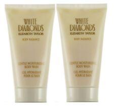 2X White Diamonds Elizabeth Taylor Women 3.3 oz 100 ml Gentle Body Wash Tube New