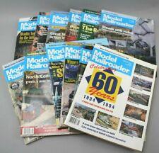 Vintage 1994 Model Railroader Magazine 12 Issues Full Year Trains Railroad