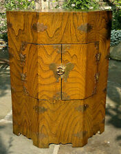 More details for early 20th century japanese octagonal storage side table 23
