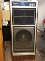 Vintage SounDesign Wide Range Speaker set Model 0707A