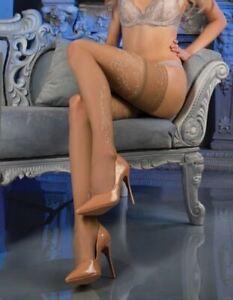 Ballerina 470 Sheer Stockings Thigh High Hold Ups