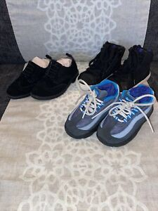 Infant Shoes Nike Sneaker Size 7.5 Gap Dress Shoe And Hightop Sneaker Size 8 Lot