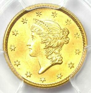 1853 Liberty Gold Dollar (G$1 Coin) - PCGS MS66 (Gem UNC BU) - $3,500 Value!