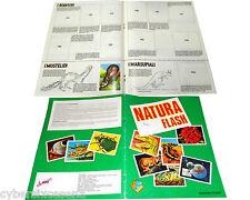 NATURA Flash album figurine 1984 ( + 7 figurine )