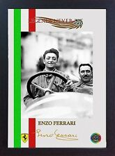 Enzo Ferrari GP Legend signed autograph photo print Formula1 Framed