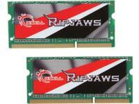 G.SKILL Ripjaws Series 8GB (2 x 4GB) 204-Pin DDR3 SO-DIMM DDR3L 1600 (PC3L 12800