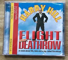 AUDIO BOOK: Harry Hill - FLIGHT FROM DEATHROW on 2 CDs read by the author - NEW