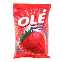 SWEET & SOUR Flavour Strawberry Candy Tropical Thai Fruit Ole Thailand 10 pcs