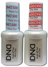 DND Duo UV Gel Base Coat & Non Cleanse Top Coat .5oz -  FREE SHIPPING!!