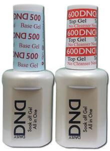 DND Duo UV Gel Base Coat & Non Cleanse Top Coat .5oz -  FREE SHIPPING!!