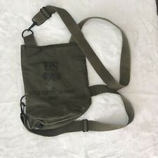 Vintage US MILITARY FIELD PROTECTIVE GAS MASK BAG M9A1 POUCH ONLY