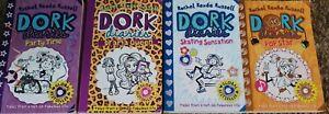 Dork Diaries ×4 books By Rachel Renee Russell