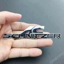 Black AC SCHNITZER Metal Emblems Badge Decal Sticker For BMW M2 M4 M5 X3 X5 E63