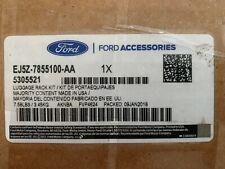 Genuine OEM Ford Cross Bars - 2-Piece Set Carbon Black EJ5Z-7855100-AA Escape