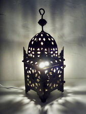 35 cm! Lampe de chevet Marocaine lanterne lustre bougeoir bougie applique