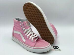 """VANS Sk8-Hi """"Pink/White"""" Size 7.5"""