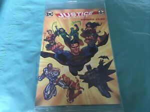 DC Justice League Power Play Mini Comic Book #1 New Sealed