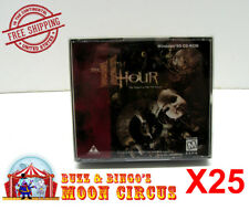 25X PC GAME / SOFTWARE CD-ROM DOUBLE JEWEL CASE -CLEAR PROTECTIVE BOX PROTECTORS